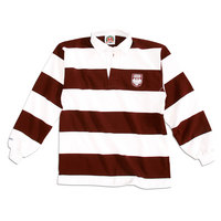 University of Chicago Barbarian Striped Rugby Shirt