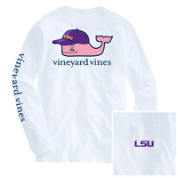 Vineyard Vines Baseball Cap Whale Long Sleeve Pocket Tee