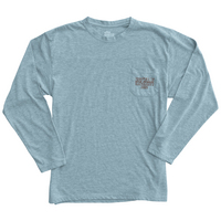 Alta Gracia Long Sleeve Front Pocket Crewneck T Shirt