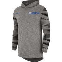 Nike College Dri Fit MenS Long Sleeve Hooded T Shirt