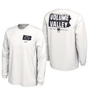 Nike PSU 2020 White Out College Football LS Tee