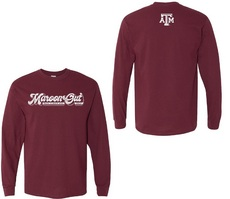Maroon Out Adult Long Sleeve Shirt