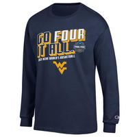 Womens Champion Jersey Road to the Final Four Long Sleeve T Shirt