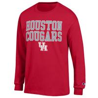 Houston Cougars Champion Long Sleeve T-Shirt