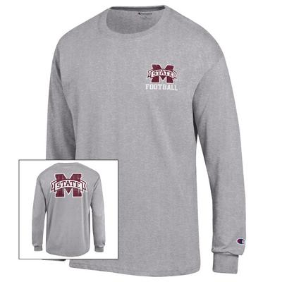 Mississippi State Bulldogs Champion Long Sleeve Jersey TShirt