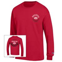 Houston Cougars Champion Long Sleeve TShirt