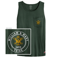 League Vintage Washed Pocket Tank Top
