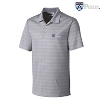 Cutter & Buck DryTec Interbay Melange Stripe Polo