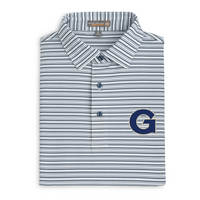 Peter Millar Barron Stripe Stretch Polo