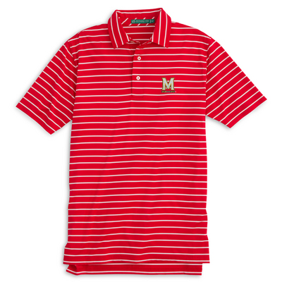 Southern Tide Striped Gameday Driver Polo