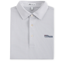 Peter Millar Graduate Stripe Stretch Jersey Polo