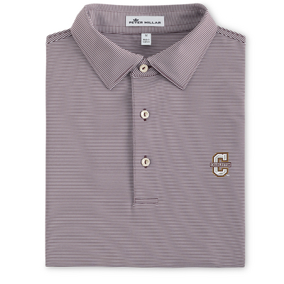 Peter Millar College Stripe Stretch Jersey Polo