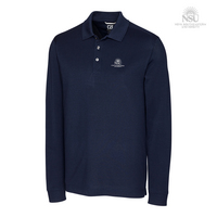 Cutter & Buck Big & Tall Advantage Long Sleeve Polo