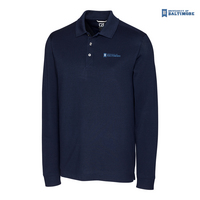 Cutter & Buck Big & Tall Advantage Long Sleeve Polo (Online Only)