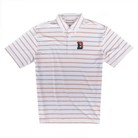 The Collection at Bucknell Ecotec Stripe Polo