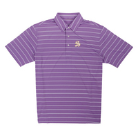 The Sewanee Tigers Collection Ecotec Stripe Polo