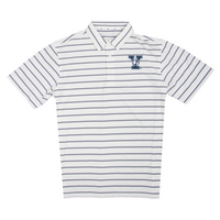 The Collection at Yale Ecotec Stripe Polo