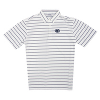 For the Glory at Penn State Ecotec Stripe Polo