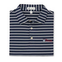 Peter Millar Market Stripe Stretch Jersey Polo