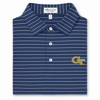 Peter Millar Trophy Stripe Stretch Jersey Polo