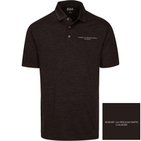 Oxford America Snyder Heathered Jersey Polo