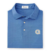 Peter Millar Stanbury Printed Mini Gingham Polo