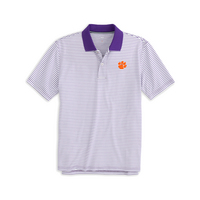 Southern Tide Gameday Pique Striped Polo