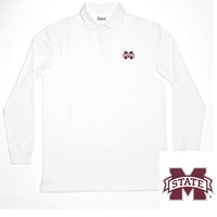 Oxford America Staurt Long Sleeve Polo