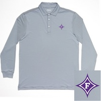 Oxford America Wheeler Long Sleeve Polo