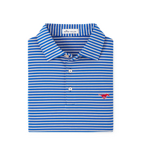 Peter Millar Mills Stripe Stretch Jersey Polo