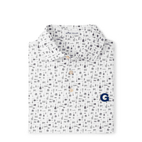 Peter Millar Landmark Printed Tailgate Stretch Polo