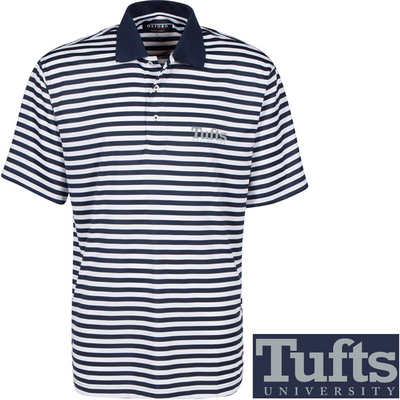 Tufts University Bookstore - Veri Cool Bar Stripe Polo c91e3cceb