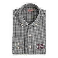Peter Millar Stretch Mini Check Woven