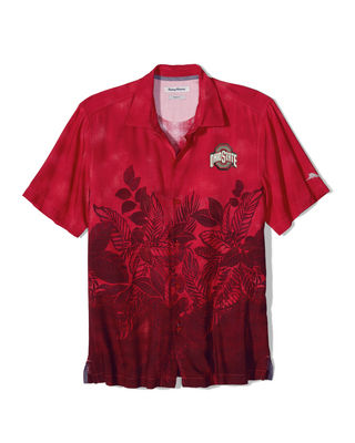 Tommy Bahama Floral Fade Woven Shirt