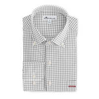 Peter Millar Stretch Tattersall Woven Sport Shirt