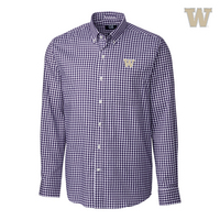 Cutter & Buck League Gingham