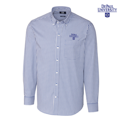 Cutter & Buck Big & Tall Stretch Gingham Shirt (Online Only)