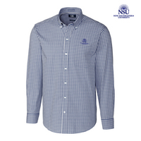 Cutter & Buck Big & Tall Stretch Gingham Shirt