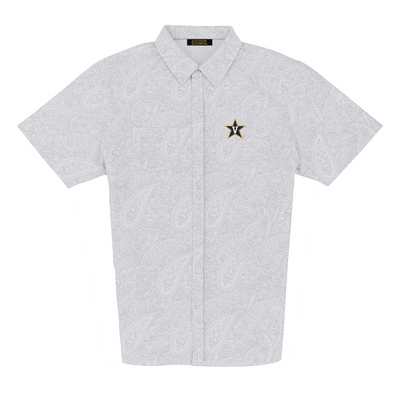 Leaders and Champions at Vanderbilt Luxtec Champions Paisley Sport Shirt