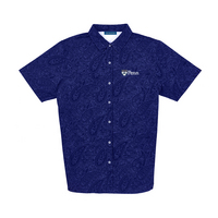 The Collection at the University of Pennsylvania Luxtec Champions Paisley Sport Shirt