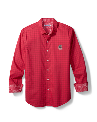 Tommy Bahama Sport Competitor Check Long Sleeve Woven