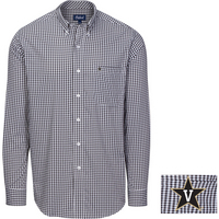 Oxford Howell Performance Gingham Button Down