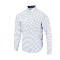 The Georgetown Collection Diagonal Button Up LS Woven