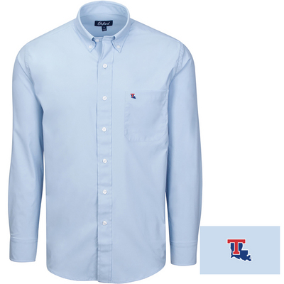 Oxford America Solid Howell Sport Shirt