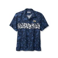 Tommy Bahama Sport Pina Plazzo Silk Camp Short Sleeve Shirt