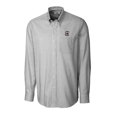 Cutter & Buck Long Sleeve Epic Easy Care Tattersall Woven