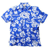 Wes & Willy Mens Short Sleeve Floral Beach Button Down Shirt