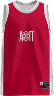 Alpha Omicron Pi Unisex Replica Basketball Jersey Modern (Online Only)