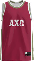 Alpha Chi Omega Unisex Replica Basketball Jersey Modern (Online Only)