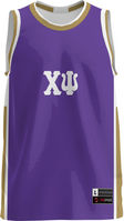Chi Psi Unisex Replica Basketball Jersey Modern (Online Only)